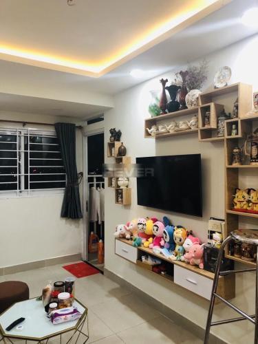 Căn hộ Ehome S Nam Sài Gòn tầng thấp, đầy đủ nội thất.