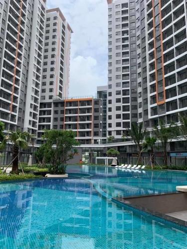 View Căn hộ SAFIRA KHANG ĐIỀN Cho thuê căn hộ Safira Khang Điền tầng trung, diện tích 83m2 - 3 phòng ngủ