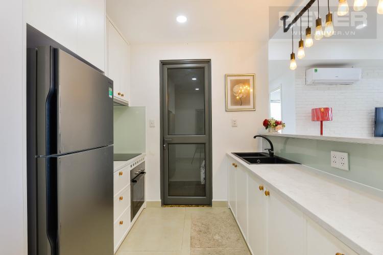 Bếp Căn hộ Masteri Thảo Điền tầng cao, 2PN đầy đủ nội thất, view sông