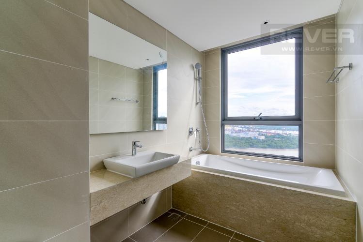 Phòng Tắm 1 Bán căn hộ Diamond Island - Đảo Kim Cương 2PN, tầng cao, tháp Bora Bora, view sông và hồ bơi