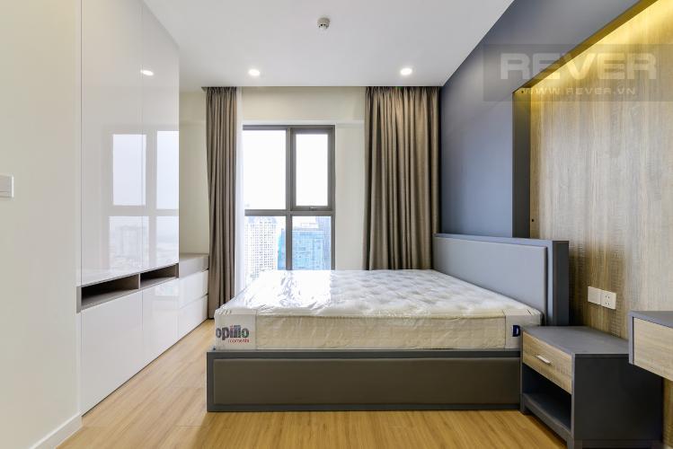 Phòng Ngủ 1 Cho thuê căn hộ Masteri Millennium tầng cao, 3PN, nội thất đầy đủ
