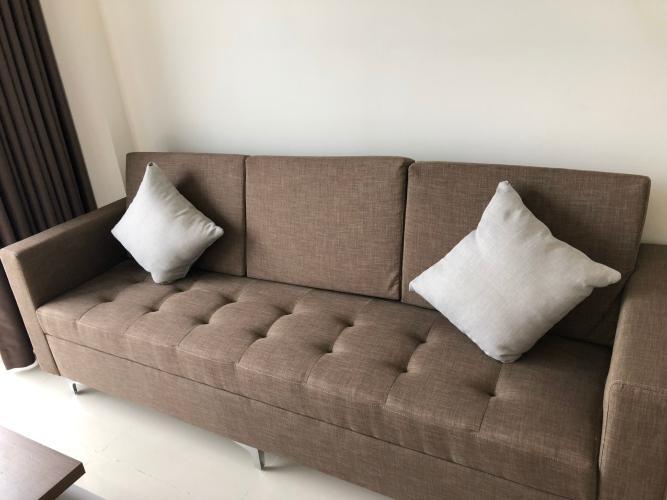 sofa phòng khách căn hộ The Sun Căn hộ tầng 12 The Sun Avenue, view thành phố và Landmark 81