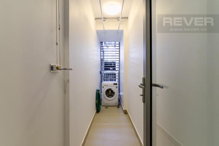 Loggia Cho thuê căn hộ Vinhomes Central Park 2PN 2WC, đầy đủ nội thất, view sông