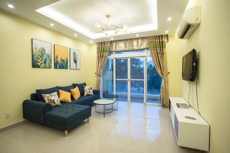 Cho thuê căn hộ Riverside Residence, tầng thấp, đầy đủ nội thất, hướng Đông đón gió