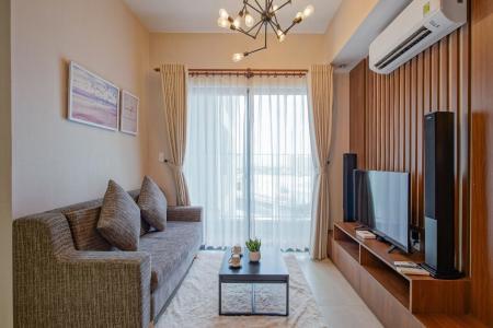 Bán căn hộ Masteri Thảo Điền, tầng trung, 2 phòng ngủ diện tích 64m2, đầy đủ nội thất