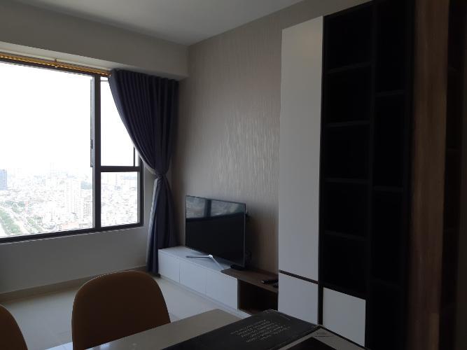 Phòng khách căn hộ RiverGate Residence Cho thuê căn hộ RiverGate Residence 2 phòng ngủ, diện tích 74m2, đầy đủ nội thất, view thành phố