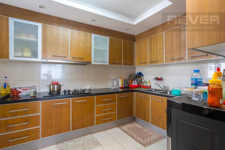 Nhà bếp Căn hộ Saigon Pearl 3 phòng ngủ tầng cao Sapphire đầy đủ nội thất