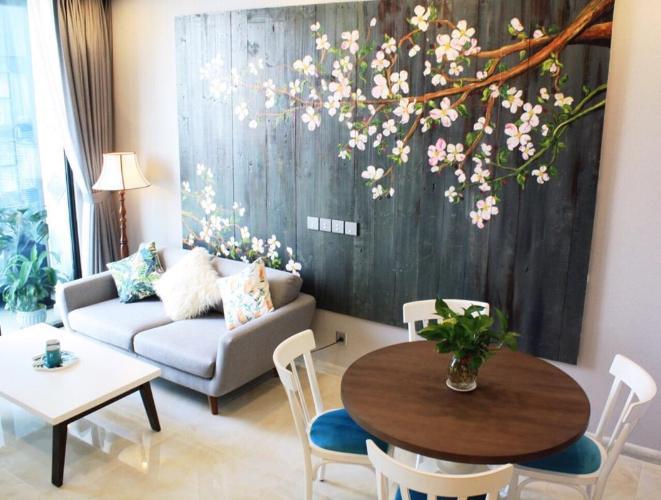 Bán căn hộ Vinhomes Golden River 2PN, tháp The Aqua 3, đầy đủ nội thất, view sông và Bitexco