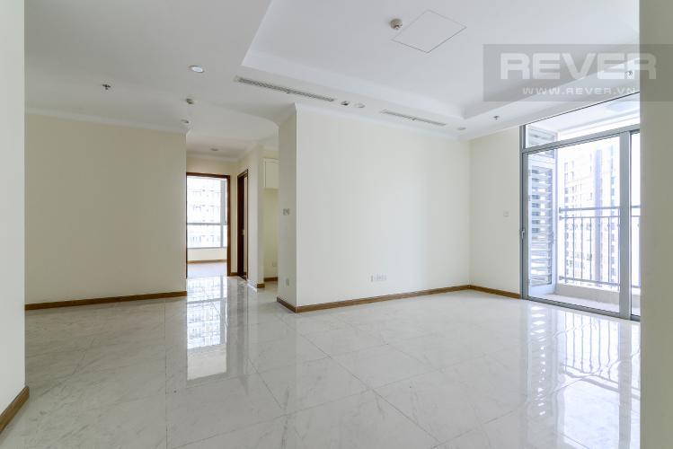 Phòng Khách Cho thuê căn hộ Vinhomes Central Park 3PN và 2WC, nội thất cơ bản, view nội khu