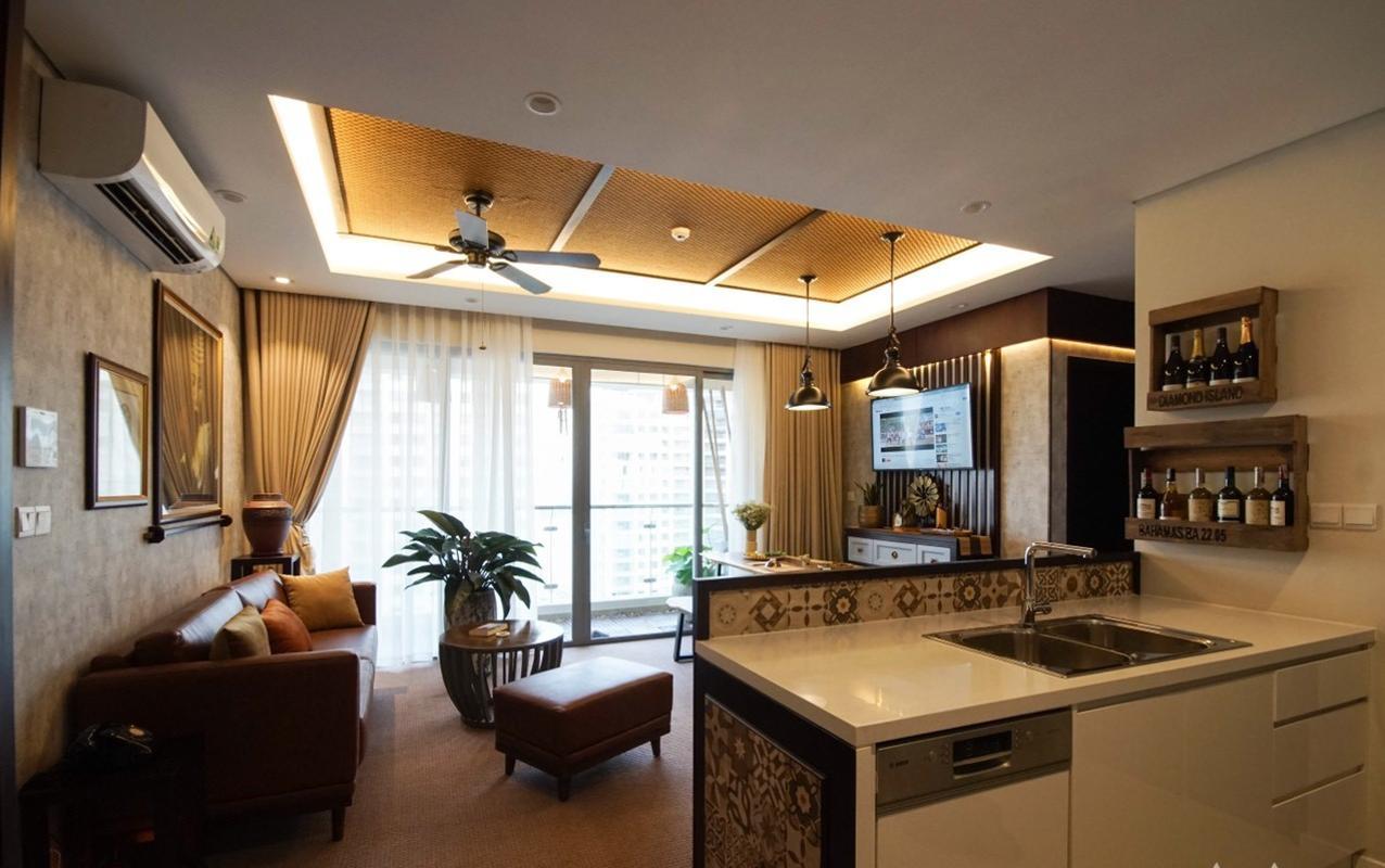 BA2205 (23) Bán căn hộ Diamond Island - Đảo Kim Cương 2PN, tháp Bahamas, đầy đủ nội thất sang trọng, view hồ bơi