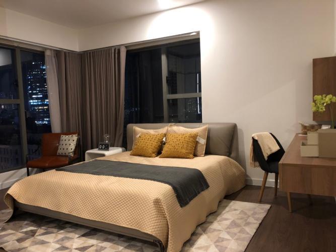 Phòng ngủ căn hộ SAIGON ROYAL Cho thuê căn hộ Saigon Royal 3 phòng ngủ, tháp A, diện tích 115m2, đầy đủ nội thất