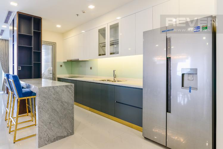 Nhà Bếp Căn góc Vinhomes Central Park 4 phòng ngủ tầng cao P2 full nội thất