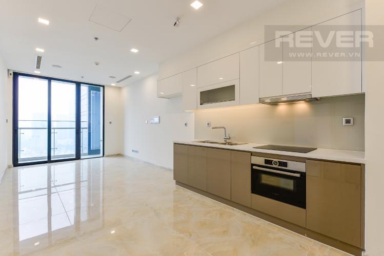 Phòng khách Bán căn hộ Vinhomes Golden River tầng cao 1PN view đẹp