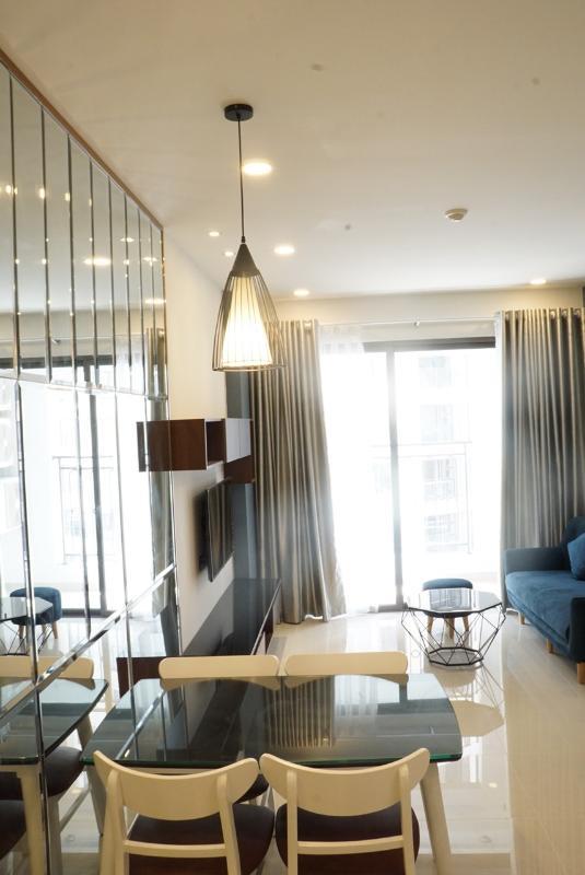 7ef7e88a1771f02fa960 Cho thuê căn hộ Saigon Royal 2PN, tầng 21, tháp A, diện tích 80m2, đầy đủ nội thất, hướng Đông Bắc