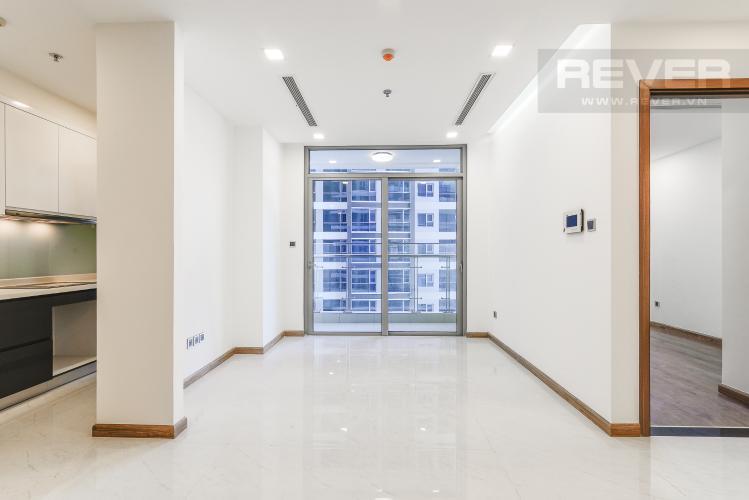 Phòng Khách Căn hộ Vinhomes Central Park tầng trung Park 3 view trực diện sông