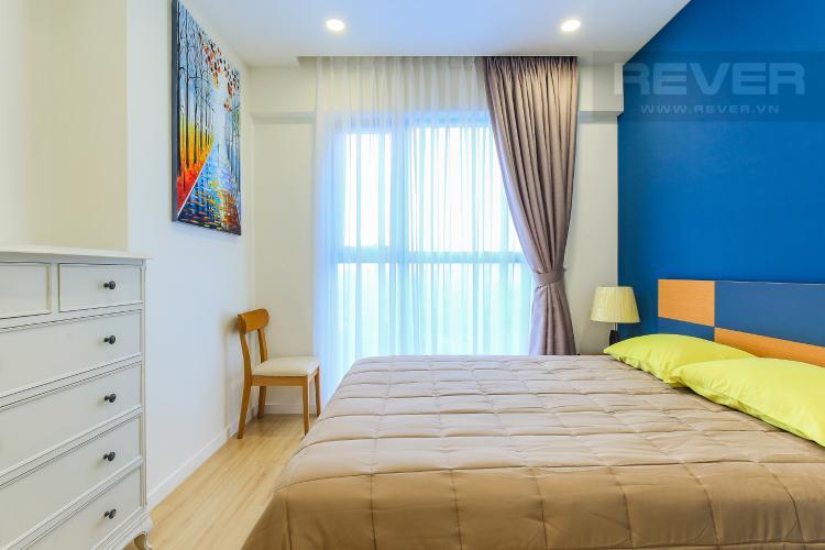 Phòng Ngủ 2 Cho thuê căn hộ Masteri Millennium tầng trung 3PN đầy đủ nội thất, diện tích rộng rãi