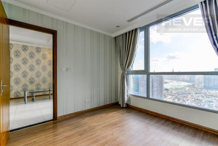 Phòng Ngủ 2 Căn hộ Vinhomes Central Park tầng cao, tháp Landmark 3, 3PN, nội thất cơ bản