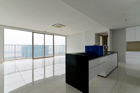 Cho thuê căn hộ Waterina Suites 3PN,  diện tích 173m2, nội thất cơ bản, view sông thoáng đãng