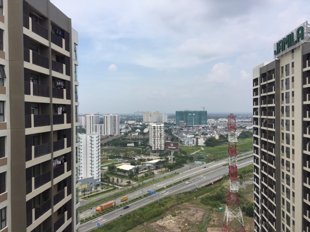ef9789210b4eed10b45f Bán căn hộ Jamila Khang Điền 2PN, tầng cao, block B, không có nội thất, view hồ bơi