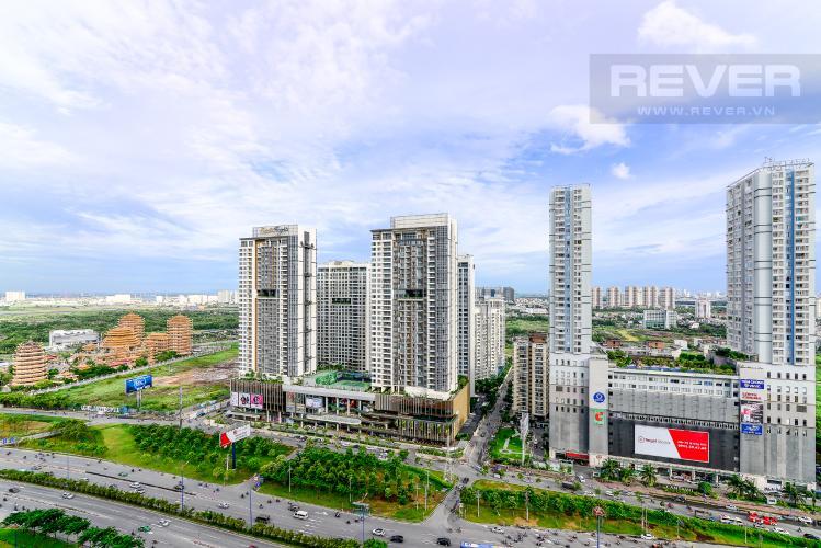 View Cho thuê căn hộ Masteri An Phú 2PN, tầng cao, tháp A, view Xa lộ Hà Nội