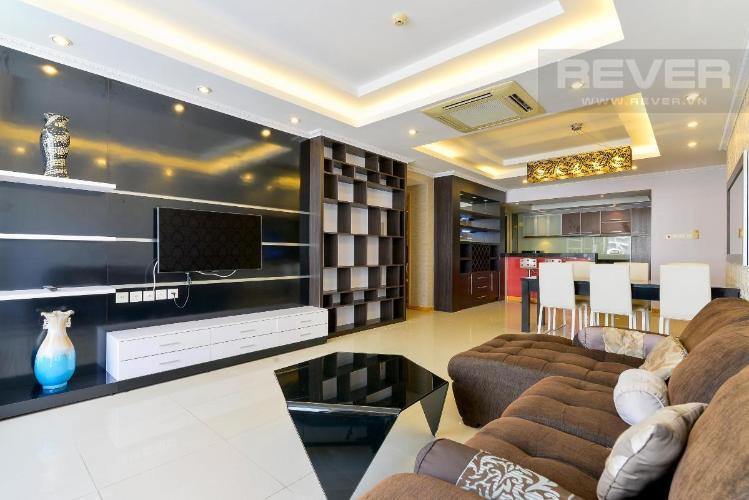 Bán hoặc cho thuê căn hộ Saigon Pearl 3PN, tháp Ruby 1, đầy đủ nội thất, view sông và nội khu