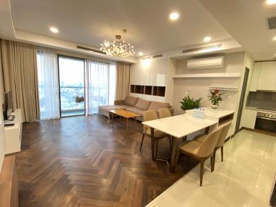 Bán căn hộ Masteri Millennium 3PN, nội thất cơ bản, view Bitexco và sông Sài Gòn