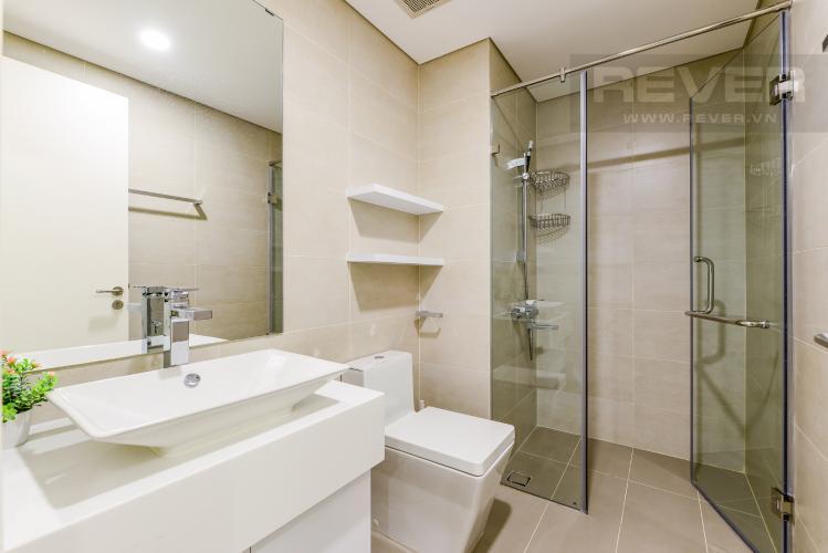 Phòng tắm 1 Cho thuê căn hộ Masteri Millennium tầng cao, view sông 2PN đầy đủ nội thất