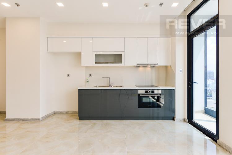 Nhà Bếp Officetel Vinhomes Golden River 2 phòng ngủ tầng trung A4 hướng Đông Bắc