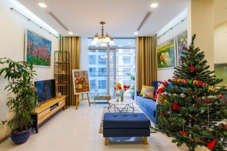 Căn hộ Vinhomes Central Park 2 phòng ngủ tầng thấp P3 view nội khu