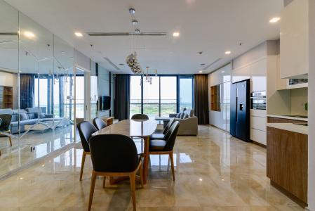 Bán căn hộ Vinhomes Golden River 3PN, đầy đủ nội thất, view sông