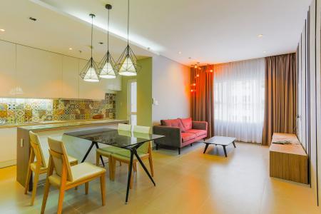 Căn hộ Sunrise City 2 phòng ngủ tầng cao W2 view hồ bơi