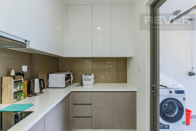 Phòng Bếp Cho thuê căn hộ Masteri Millennium 3PN, diện tích 107m2, đầy đủ nội thất, view Bitexco