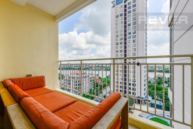 Ban công Căn hộ Xi Riverview Place 3 phòng ngủ tầng trung đầy đủ nội thất