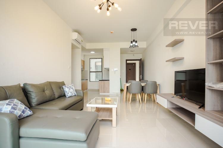 Phòng Khách Cho thuê căn hộ The Sun Avenue 3PN, block 5, đầy đủ nội thất, view sông mát mẻ