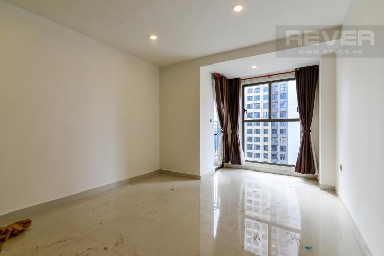 Phòng Khách Cho thuê căn hộ Saigon Royal 1PN, tầng cao, tháp B,  diện tích 35m2, không nội thất