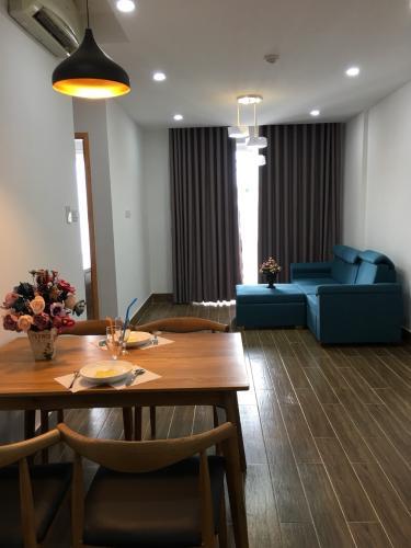 Cho thuê căn hộ tầng cao Sunrise Riverside, view hồ bơi nội khu thoáng mát, đầy đủ nội thất, dọn vào ở ngay.