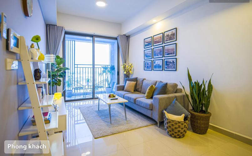 Phòng khách Botanica Premier, Tân Bình Căn hộ Botanica Premier tầng trung, nội thất đầy đủ.