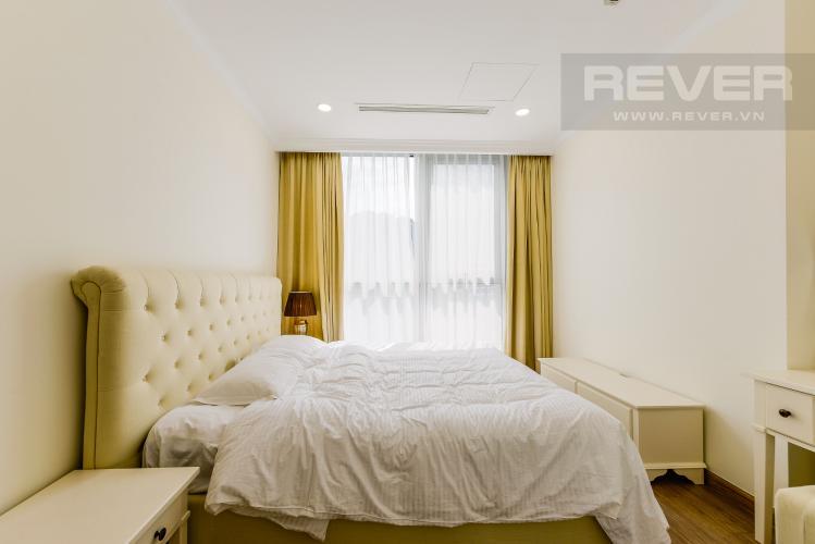Phòng ngủ 1 Căn hộ Vinhomes Central Park tầng cao, 3PN, đầy đủ nội thất