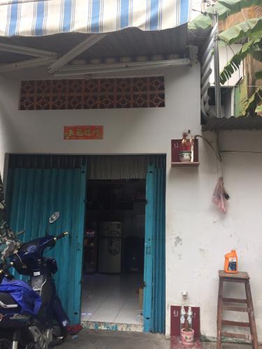 Bán nhà phố 2 tầng, đường hẻm Nguyễn Văn Đừng, phường 6, quận 5, diện tích đất 18.75m2, sổ hồng đầy đủ