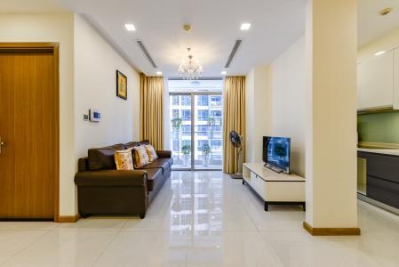 Căn hộ Vinhomes Central Park 3 phòng ngủ tầng cao P3 view sông