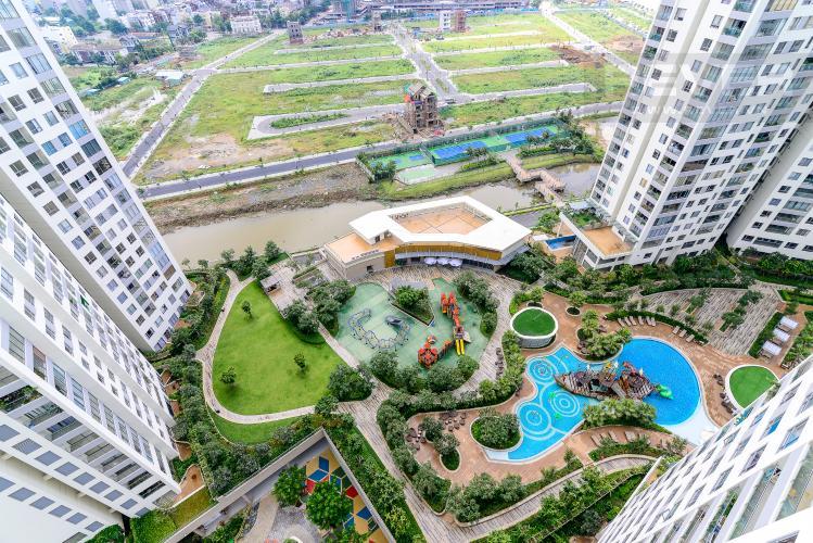 View Cho thuê căn hộ Diamond Island - Đảo Kim Cương 1PN, tầng trung, tháp Hawaii, đầy đủ nội thất, view hồ bơi
