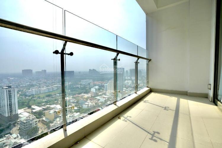 ban công căn hộ An Gia Skyline Căn hộ An Gia Skyline nội thất cơ bản, view thành phố.