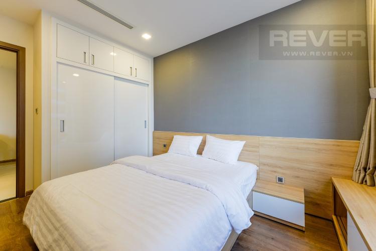 Phòng ngủ 2 Căn hộ Vinhomes Central Park tầng cao, tháp Park 2, 2PN, view sông