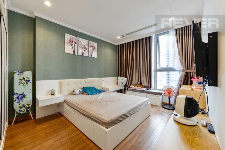 Phòng ngủ 1 Căn hộ Vinhomes Central Park 4 phòng ngủ tầng trung C2 view sông