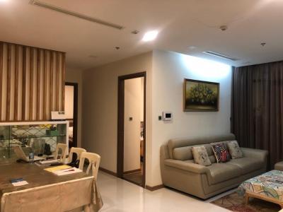 Cho thuê căn hộ Vinhomes Central Park 2PN, tầng thấp, diện tích 79m2, đầy đủ nội thất