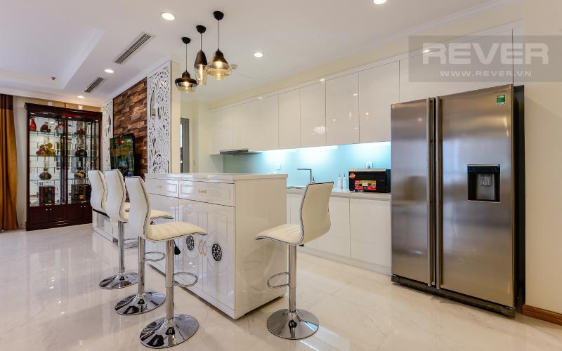 Không gian bếp Căn hộ 3 phòng ngủ tiện nghi, đẳng cấp tại The Central 1, Vinhomes Central Park