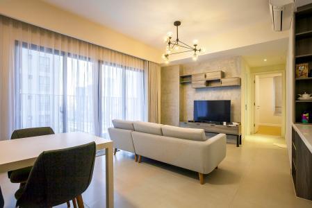 Căn hộ Masteri Thảo Điền 2 phòng ngủ tầng cao T4 view hồ bơi