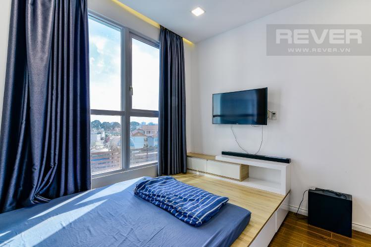 Phòng Ngủ 1 Bán căn hộ The Prince Residence Phú Nhuận 2PN, nội thất đầy đủ