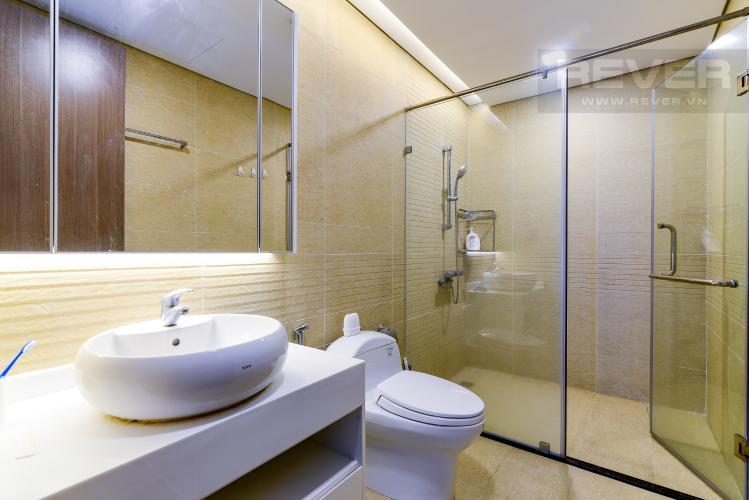 Phòng Tắm 1 Cho thuê căn hộ Vinhomes Central Park 3PN, tháp Park 1, đầy đủ nội thất, hướng Tây Bắc