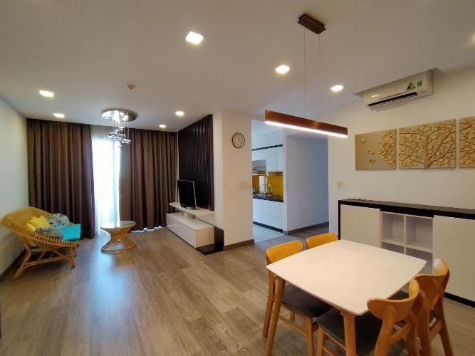 Phòng khách căn hộ Lexington Residence, Quận 2 Căn hộ Lexington Residence thiết kế hiện đại, nội thất cao cấp.